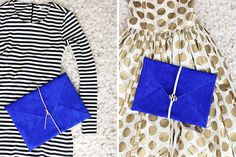 You better believe this cool clutch is DIY.