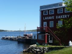 Lahave Bakery - my favorite place for fresh baked bread in Nova Scotia