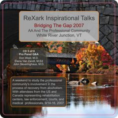 Bridging The Gap 2007, AA and the Professional Community, Pro Panel Q&A, Disc 5/8 (Alcoholics Anonymous Speaker CD Recording) Available on Etsy! Shop here 👉 https://www.etsy.com/listing/512648184/bridging-the-gap-2007-aa-and-the?utm_campaign=crowdfire&utm_content=crowdfire&utm_medium=social&utm_source=pinterest
