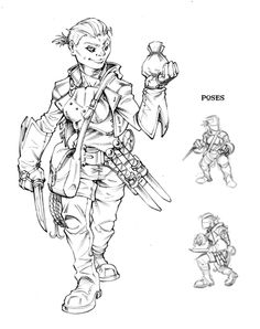 halfling ranger female - Google Search