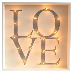 Love Marquee Light  at Joss and Main
