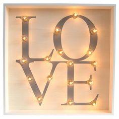Love Marquee Light