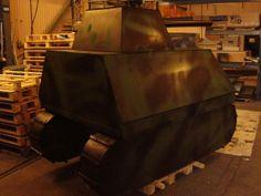 paint ball tank