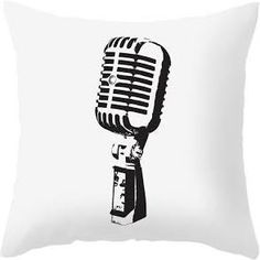 microphone throw pillow - Google Search