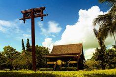 Traditional House, Jambi - Indonesia.