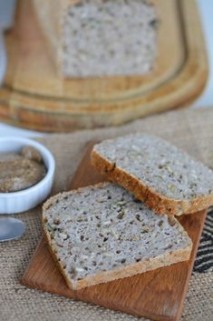 Fermented buckwheat bread is delicious and also easy to make at home as it… More from my site gluten-free bread! Just natural fermenta… Sourdough Buckwheat Flatbread Sin Gluten, Vegan Gluten Free, Gluten Free Recipes, Gluten Free Baking, Real Food Recipes, Bread Recipes, Cooking Recipes, Cooking Tips, Freezer Recipes
