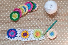 Today was a rainy day, so Eva let me some time to write this post whilst sleeping. So I want to show you how to join granny squares as you...