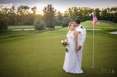 Photo Credit: Chris Carter Photography  #GolfCourse #Sunset #Love