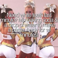 Cheer hacks Pinterest:/ m.perez1231