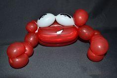 Ballonfiguur krab
