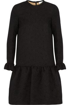 CHLOÉ Light Dahlia textured silk-blend dress $2,455