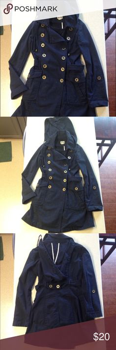 Woman's Navy blue Peacoat Size xs dark blue sailor style Peacoat. Only worn once perfect condition. Has good. Jackets & Coats Pea Coats
