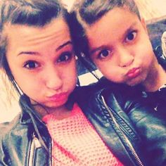 Waliyha and Aakansha.<3