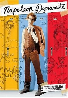 yeah, I DID plan a Napoleon Dynamite party, GOSH! Listen, we got talking with some friends one night about Napoleon Dynamite and quoting. Napoleon Dynamite, See Movie, Movie List, Film Music Books, Music Tv, Funny Movies, Good Movies, Awesome Movies, It's Funny