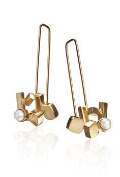 Berlin hanging earrings www.kgd.no