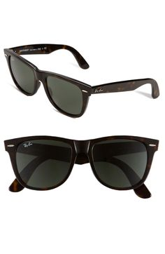 1a5f00a34be40 Iconic frames outfit signature sunglasses furnished with solid lenses. By  Ray-Ban