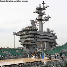Carrier Classic Basketball Game on the USS Carl Vinson, UNC vs. Mich State, Friday, November 11th, 7pm.