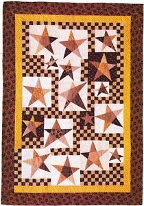 Quilt PATTERN ~ Ph.D. Stars ~ Quilting Pattern from Magazine