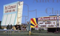 Mount Clemens Drive-in, used to work there nights while I was stationed at Selfridge ANGB