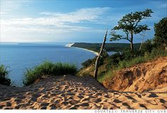 Traverse City, Michigan-Sleeping Bear Dunes