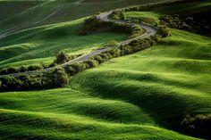 ***Street of Dreams (Tuscany, Italy) by Francesco Riccardo Iacomino on 500px cr.