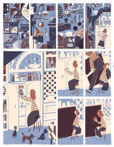 New York Times pt.1 - Roman Muradov // Illustrations for the New York Times. Part One: Covers and larger pieces.