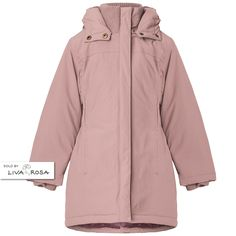 Beautiful and practical girl wintercoat from MarMar Copenhagen for girls. Read more on our website.
