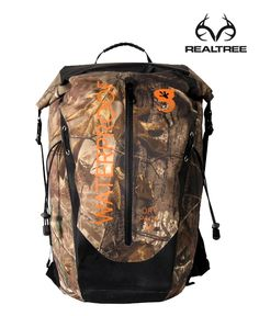 Protect your gear with #RealtreeAp #waterproof #camo #backpack