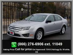 2011 Ford Fusion S Sedan   Curb Weight: 3, Power Remote Driver Mirror Adjustment, Rear Leg Room: 37.1, Speed Sensitive Audio Volume Control, Center Console: