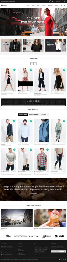 17 New #Responsive Premium Website Templates (19 November 2014) #webdesign #inspiration