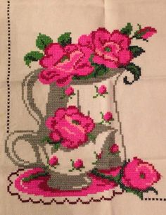 Cross Stitch, Flag, Cross Stitch Rose, Cross Stitch Embroidery, Cross Stitches, Frames, Rooster Cross Stitch, Cross Stitch Designs, Cross Stitch Pictures