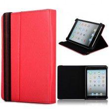 Capa Tablet 7 Polegadas - Função Stand com Fecho - Vermelho  R$35,44