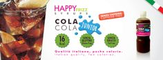 HAPPY FRIZZ SYRUPS COLA JUNIOR (Caffeine free) Find lots of funny recipes by HAPPY FRIZZ on http://www.shophappyfrizz.com/en/ricette/