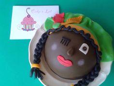 Pietenmeisje taart