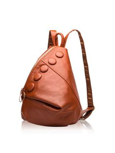 4f6c6d1d5a2 Twenty-four Brand New Women Genuine Leather Backpack With Novel Fashion  Designer Zipper Button For Teenagers Girls School Bags