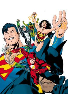 Flash & Justice League of America by Hitch and Neary