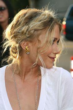 Mary-Kate Olsen Flechtfrisur