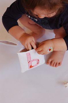 Letter sound pouches