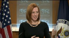 Journalist Can't Contain Laughter As State Dept Claims US Doesn't Back C... All lies must be democratic, because the United States doesn't support non-democratic lies. :)