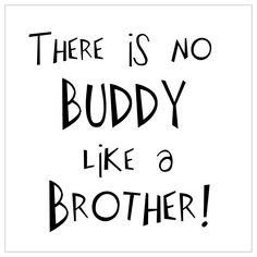Vinyl Wall Decal Lettering, Brothers Boy Room Decor. $14.00, via Etsy. (can choose Diff font & color) framed for the bedroom.