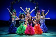 Arkansas Repertory Theatre's production of The Little Mermaid. photos by STEPHEN B. THORNTON