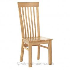 Strong and sturdy, our Newton Wooden Chair is crafted from solid oak.