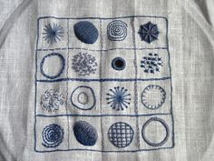 Crewel Embroidery Sampler