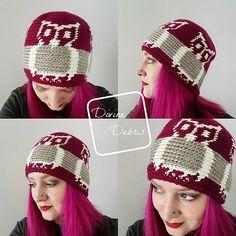 Alice Owl Hat crochet pattern by Divine Debris (RH Soft)