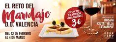 D.O. Valencia te invita al I Reto del Maridaje - http://www.valenciablog.com/d-o-valencia-te-invita-al-i-reto-del-maridaje/