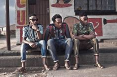 The original street style crew, Justice, Innocent and Vuyo of I See A Different You have been sharing South African street style with the world and changing international perceptions on SA youth identity. Read our interview with the trio here.
