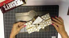 Envelope Punch Board Envelope Box for Christmas Fudge