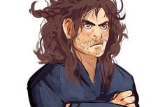 3/3 The Durin's Braiding - I think Kíli is about ready to kill someone ha ha ! (this is why Kili does not wear braids!)