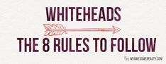 How to get rid of whiteheads fast and safely on face ( 7-DAY TREATMENT) #WhiteheadsRemoval #WhatIsCombinationSkin #GetRidOfPores Skin Care Regimen, Skin Care Tips, Whitehead Removal, How To Do Eyeshadow, Get Rid Of Pores, Prevent Wrinkles, Combination Skin, Skin Problems