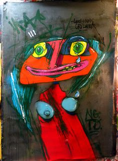 Ikaroz street art...LOVE!